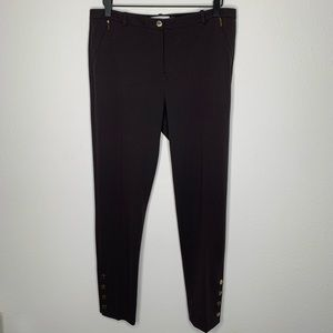 Calvin Klein Brown Casual Pants in Size 8